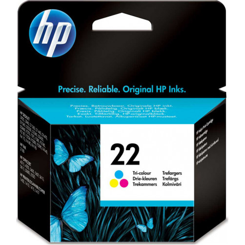 HP INK NO22 TRI-COLOR 5ML C9352AE Αναλωσιμα