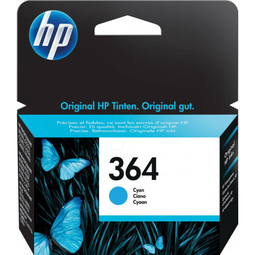 HP INK NO 364 CYAN CB318EE Αναλωσιμα