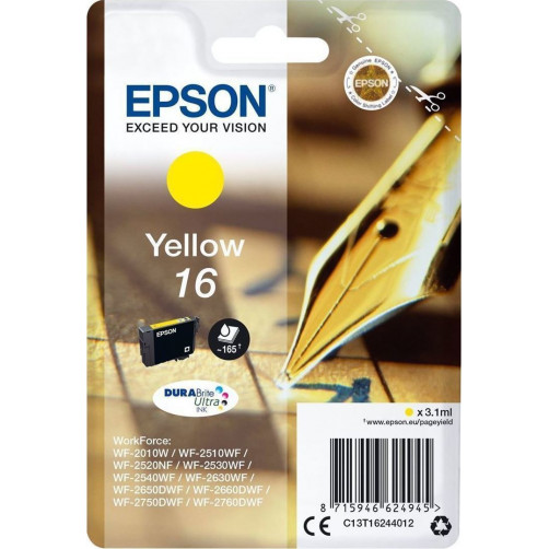 EPSON INK ULTRA YELLOW T1624 Αναλωσιμα