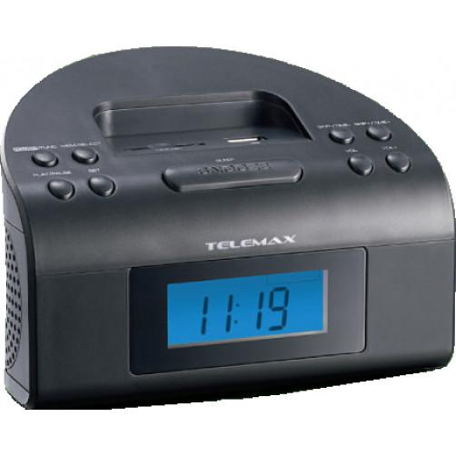 TELEMAX E-C125 Ραδιο-Ρολογια
