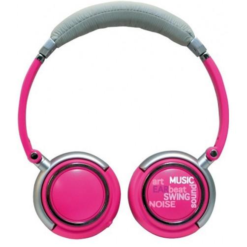 ROADSTAR HED-120F Pink Ακουστικα-Μικρόφωνα