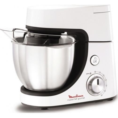 MOULINEX QA500 GOURMET ΛΕΥΚΗ 4,6Λ WHITE Κουζινομηχανές White