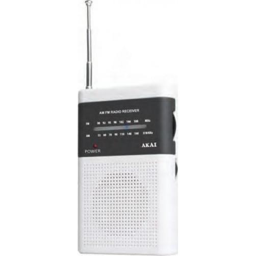 AKAI PR004A-310W WHITE Ραδιοφωνα