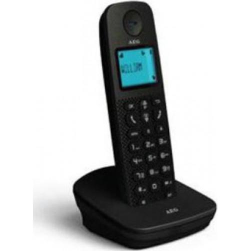 AEG VOXTEL D120 BLACK Ασυρματα Τηλεφωνα