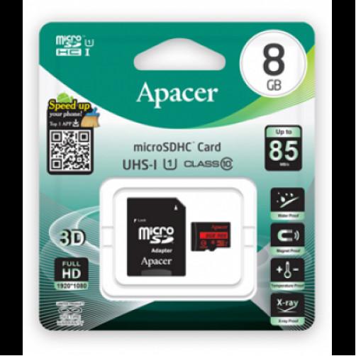 APACER SDHC-8GB Κάρτες SD/MicroSD