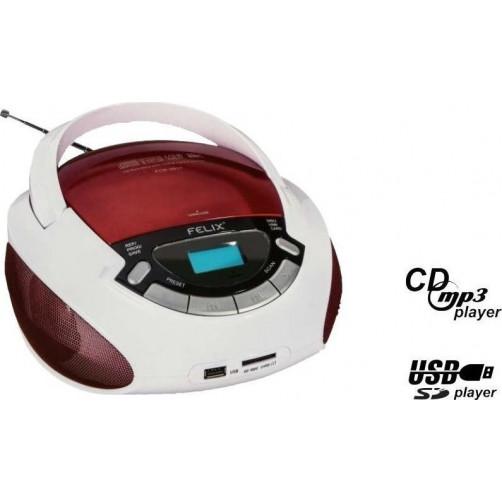 FELIX FCD3917 RADIO CD Φορητα Ραδιο-Cd