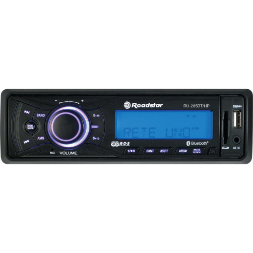 ROADSTAR RU-285BT Ραδιο USB/Mp3/AUX/Bluetooth