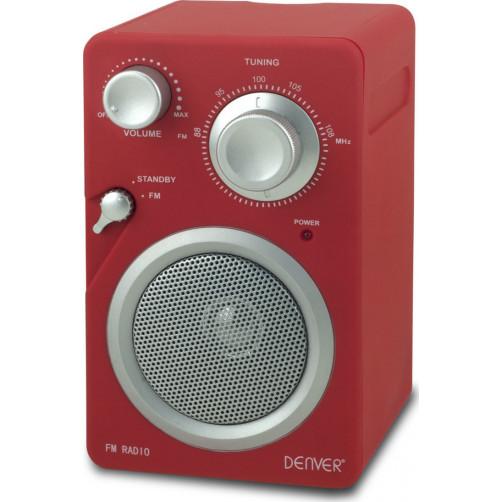 DENVER TR-41C Ραδιοφωνα Red