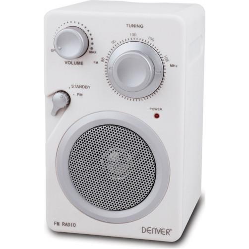 DENVER TR-41C Ραδιοφωνα White