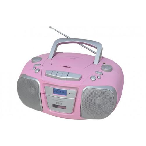 DENVER TCU-61 Φορητα Ραδιο-Cd Pink