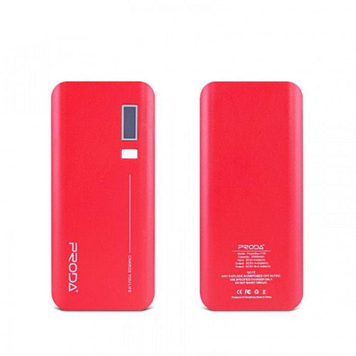 REMAX V10i PPL-6 20000mAh Powerbank Red