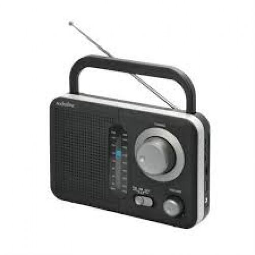 AUDIOLINE TR-412 Ραδιοφωνα Black/Silver