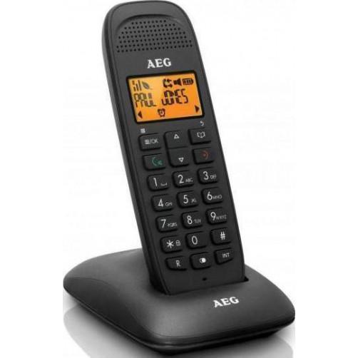 AEG VOXTEL D81 Ασυρματα Τηλεφωνα Black