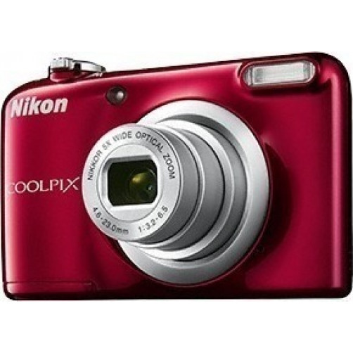 NIKON COOLPIX A10 Compact Camera Red
