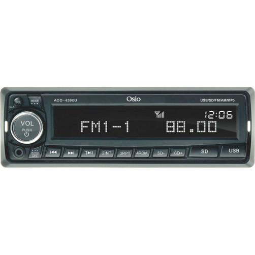 OSIO ACO-4390U Ραδιο Cd/Mp3/Dvd