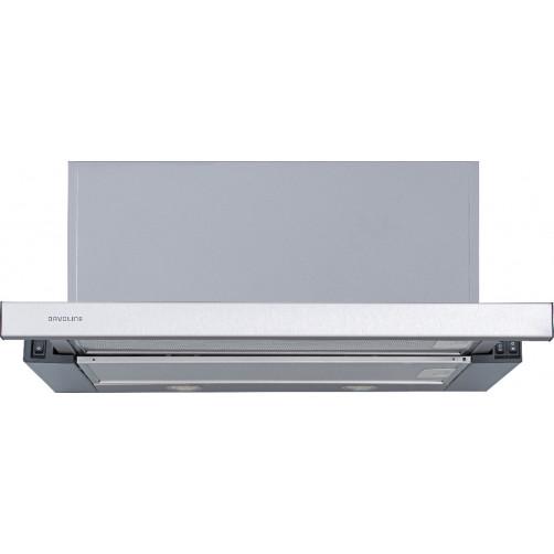 DAVOLINE IOS HPC GR IX 60cm Inox Συρόμενοι απορροφητήρες