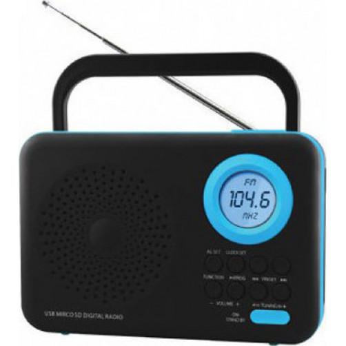 FELIX FTR-1217 BK/BL Ραδιοφωνα Black/Blue