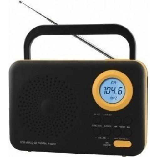 FELIX FTR-1217 BK/OR Ραδιοφωνα Black/Orange