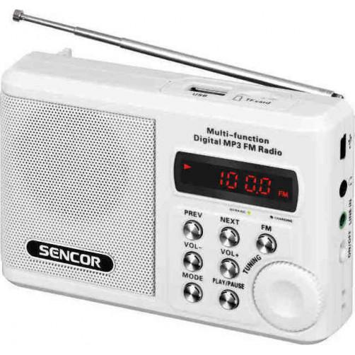 SENCOR SRD 215 W Ραδιοφωνα White
