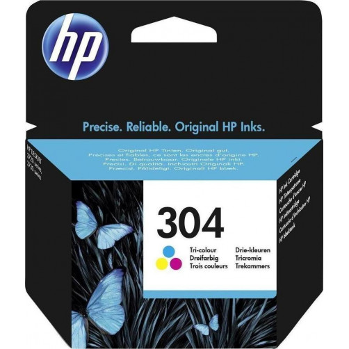 HP 304 TRI-COLOR INK