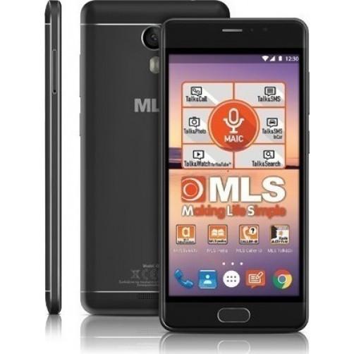 MLS MX 4G IPS 3GB/32GB Smartphones Black