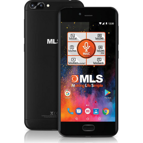 MLS DX 4G Dual Camera Smartphones Black