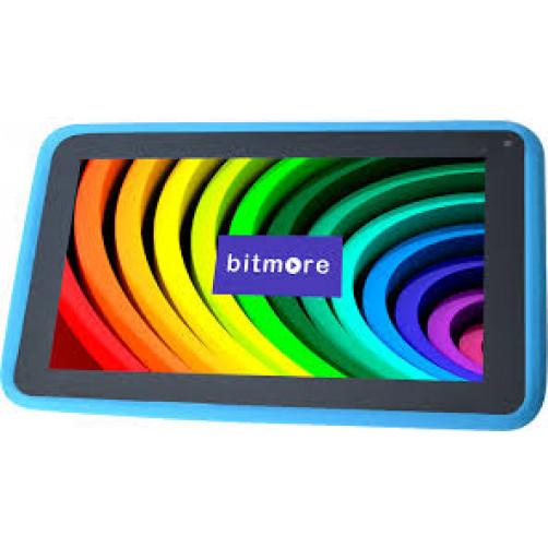BITMORE SILICON CASE 7 Θήκες Tablet Blue
