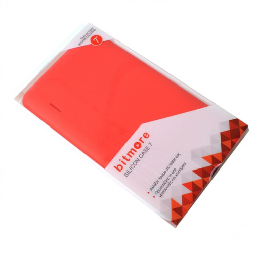 BITMORE SILICON CASE 7 Θήκες Tablet Red