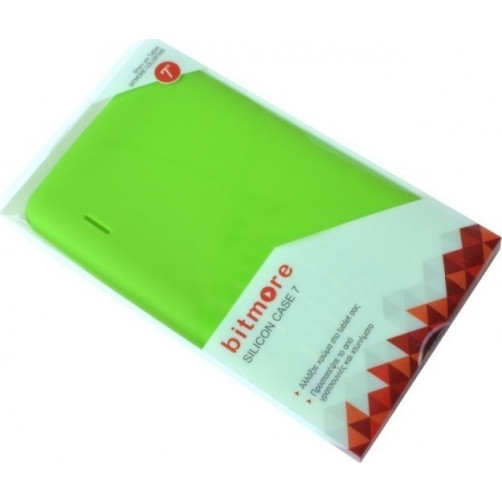 BITMORE SILICON CASE 7 Θήκες Tablet Green