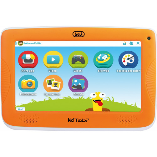 TREVI KIDTAB 7 S02 Tablet Orange