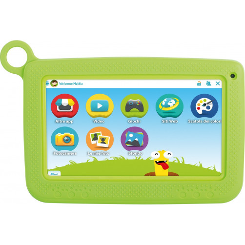 TREVI KIDTAB 7 S02 Tablet Green