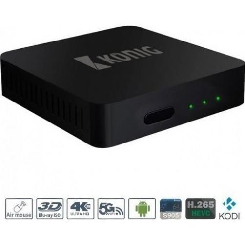 KONIG DVB-TS2 4KASB Android Box Media Players
