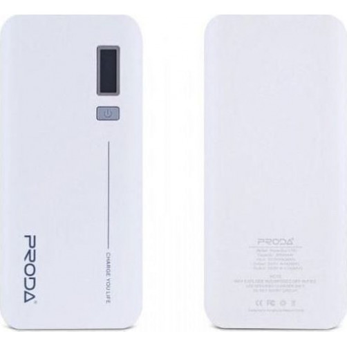 REMAX V10i PPL-6 20000mah Powerbank White