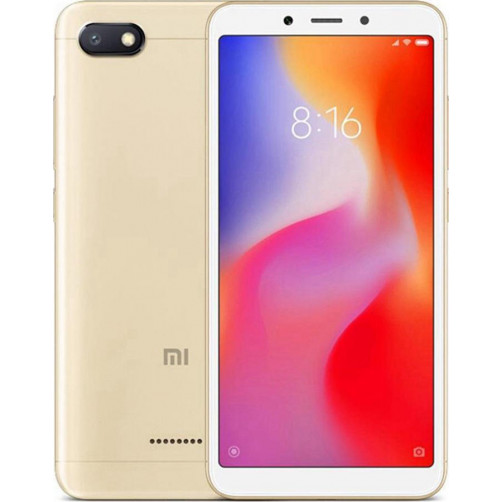 XIAOMI MI REDMI 6A 32GB Smartphones Gold