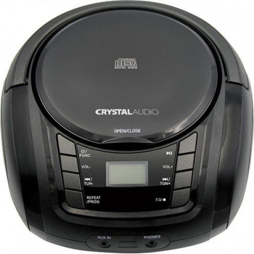 CRYSTAL AUDIO BMB1K BOOMBOX Φορητά Ράδιο-Cd Black
