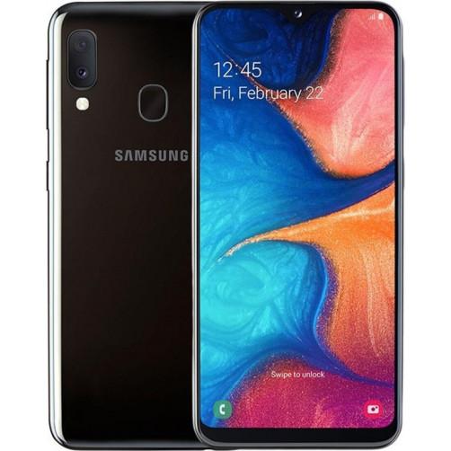 Samsung Galaxy A20e Black DUAL SIM  Smartphone