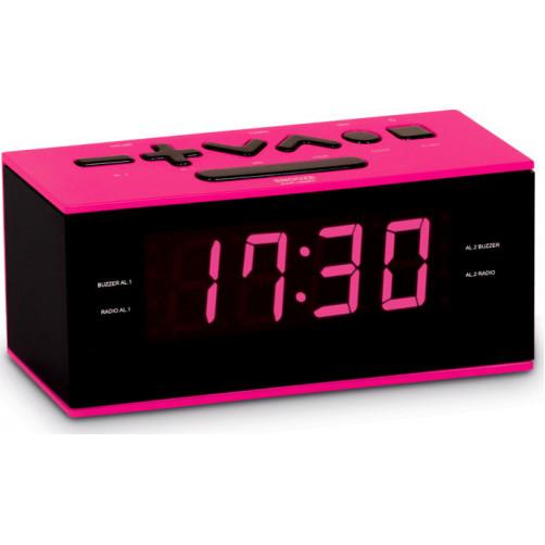 BIGBEN RR60 Pink Ραδιο-Ρολόγια