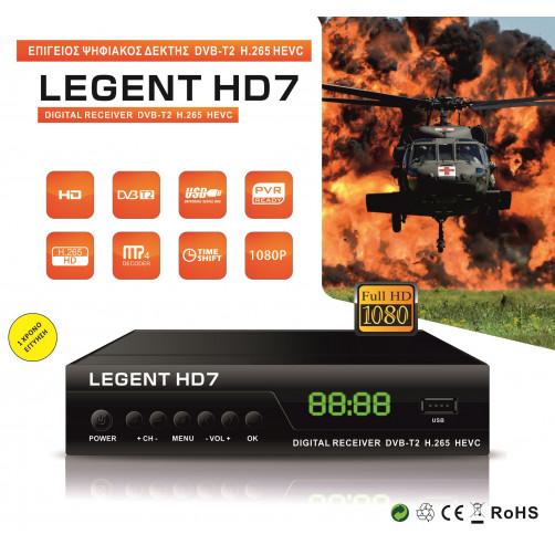 LEGENT HD7 Αποκωδικοποιητές Mpeg4