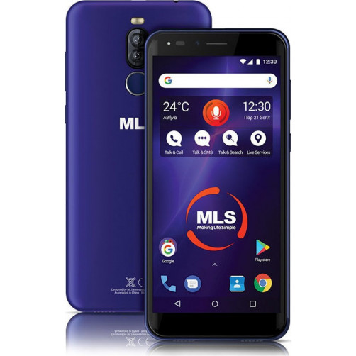 MLS DX LITE 5.7'' 3G Smartphone Blue