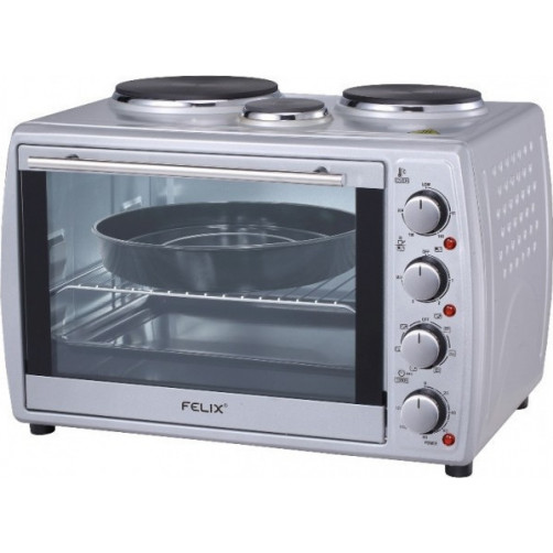 FELIX FXO-4504/SL Silver Φουρνάκια, Κουζινάκια