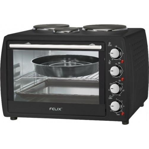 FELIX FXO-4504/BK Black Φουρνάκια, Κουζινάκια