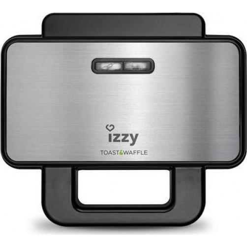 IZZY S-18 Τοστιέρα/Βαφλιέρα Inox
