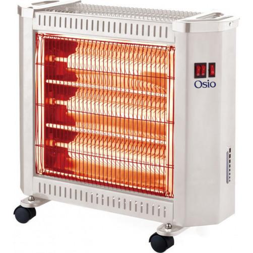 OSIO H-5208FG Χαλαζία 2400W Ηλεκτρικές Θερμάστρες