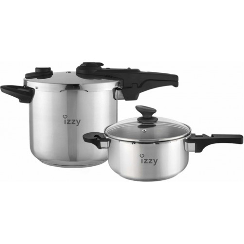 IZZY ASA22 MULTI CHEF 7LT+4LT (213119) Σετ μαγειρικών σκευών