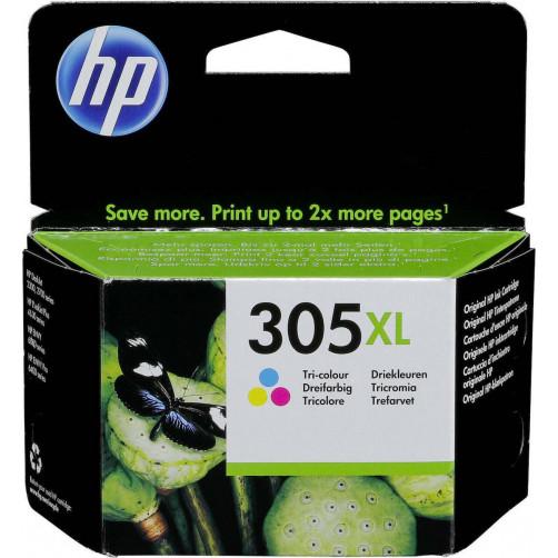 HP 305XL Tri-Color (3YM63AE) Μελάνι Εκτυπωτή