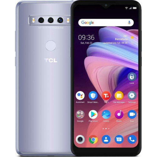 TCL 10 SE (4/128GB) Smartphones Icy Silver