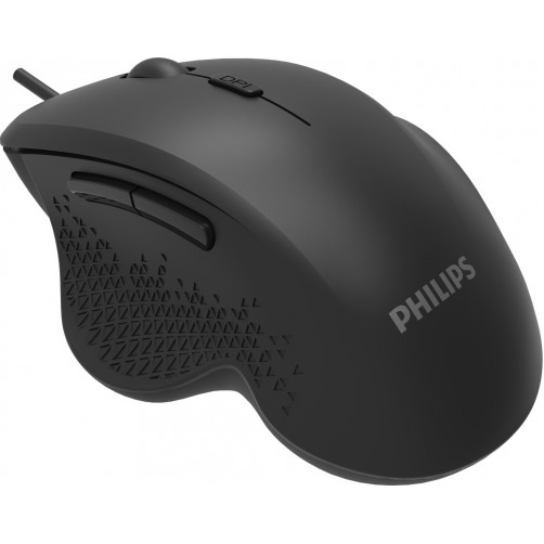 PHILIPS SPK7444 Ενσύρματο Ποντίκια Black