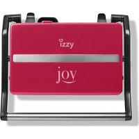 IZZY PANINI JOY RED IZ-2005 Σαντουιτσιέρα/Τοστιέρα (223632)