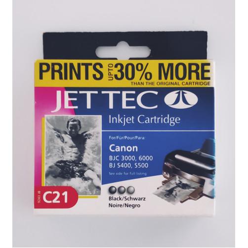 Jet Tec 9243JB C21 ink black