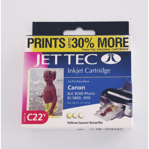 Jet Tec 9253JB C21Y ink yellow